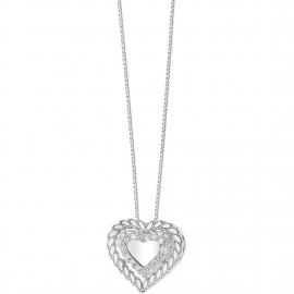 """Collana cuore """"Fantasia di diamanti"""" Comete"""""""