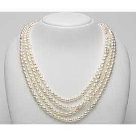 "Collana lunga perle ""Mademoiselle"" Mikiko"